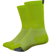 DeFeet Cyclismo Wool Comp Limelight Socks