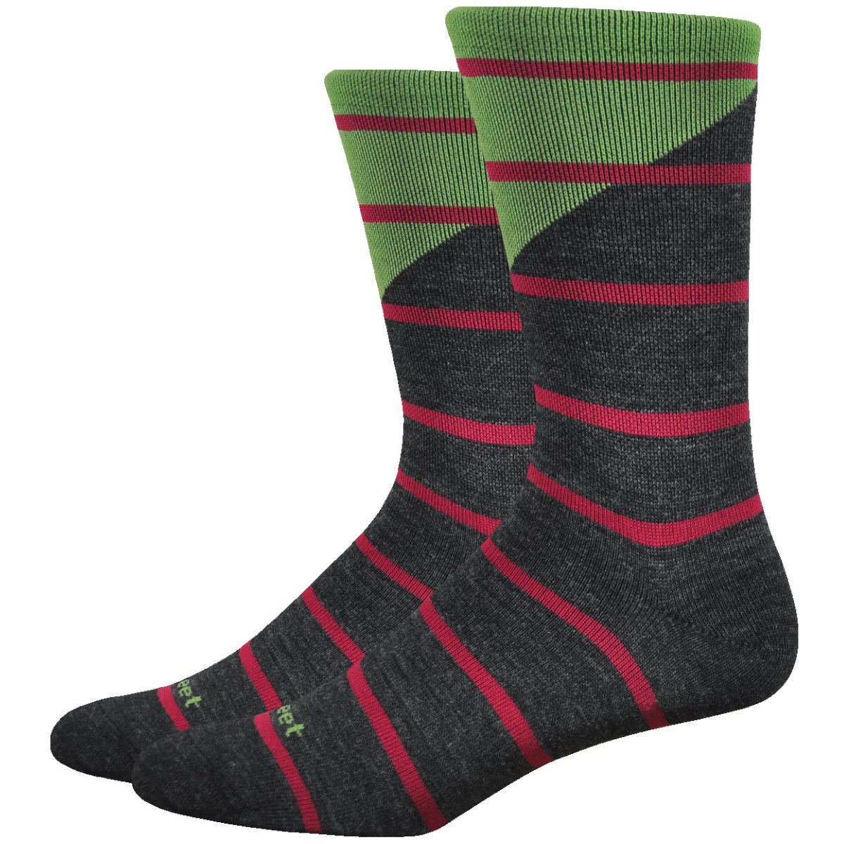 "DeFeet DeFeet Mondo Wool 7"" Tieon Socks   Socks"