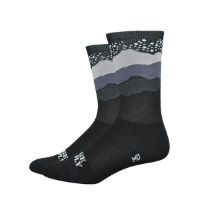 "DeFeet Aireator 6"" Ridge Supply Skyline Starry Night Sock"