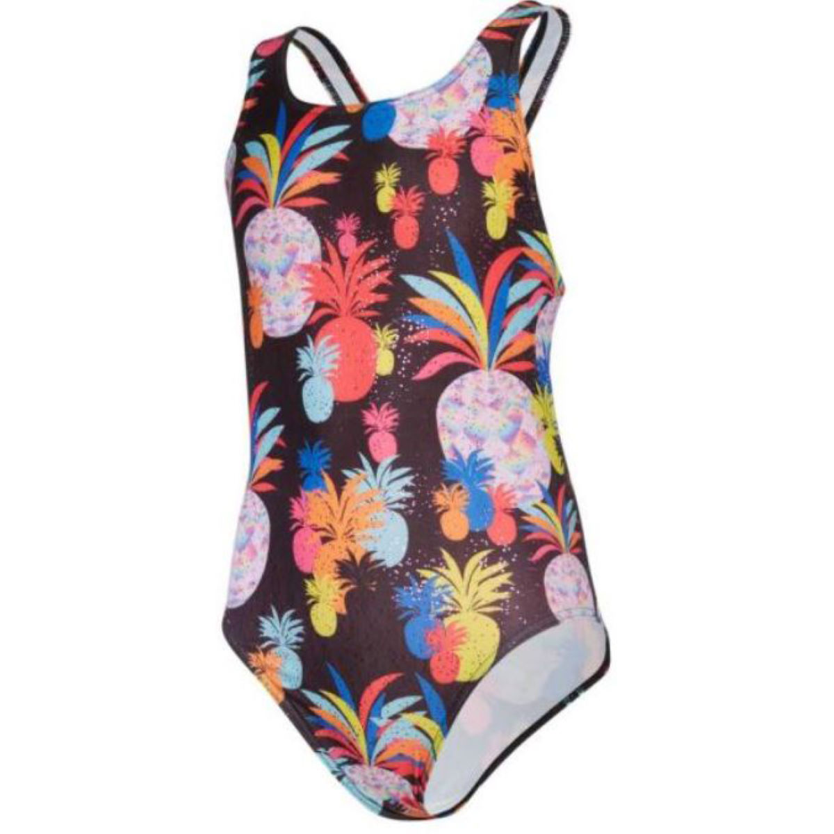 Maru Maru Girls Pinapple Poll Auto Back Swimsuit   One Piece Swimsuits