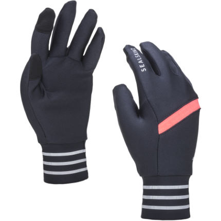 SealSkinz Solo Stretch Reflective Gloves