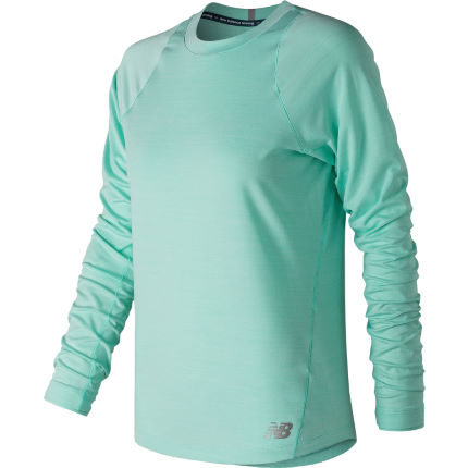 New Balance Womens Seasonless Long Sleeve Top