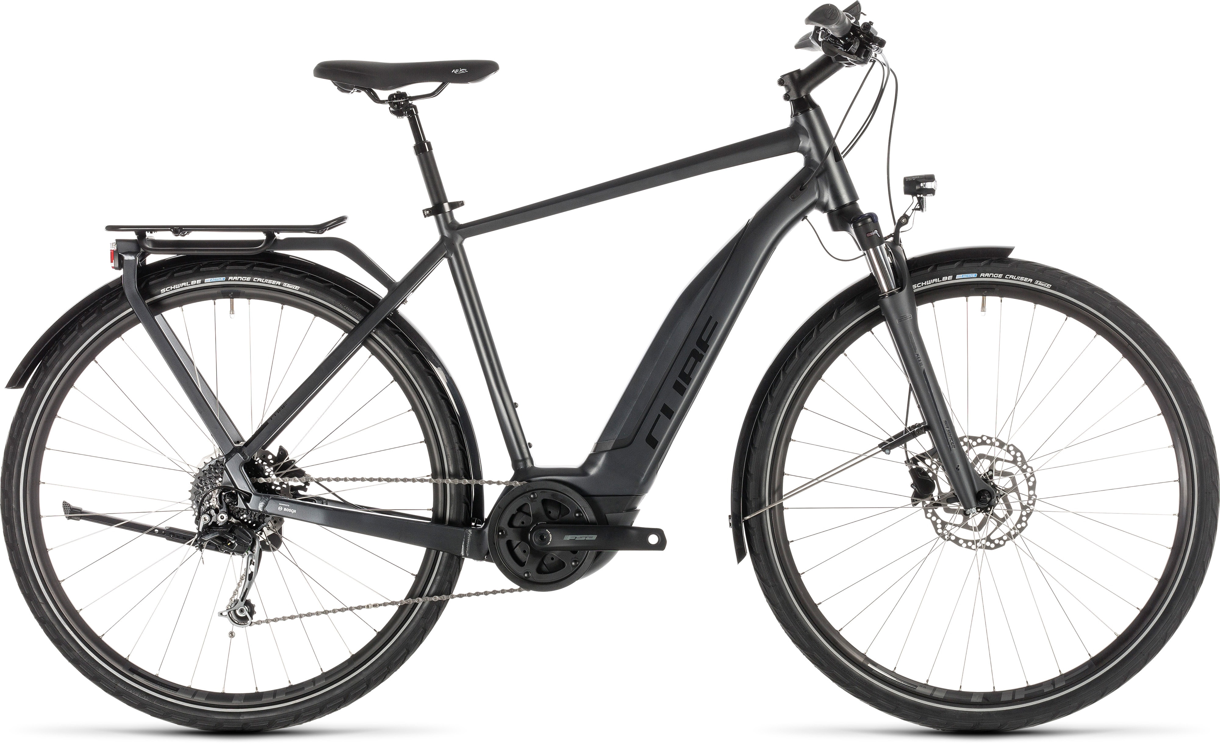 Cube Touring Hybrid 500 E-Bike (2019) | City