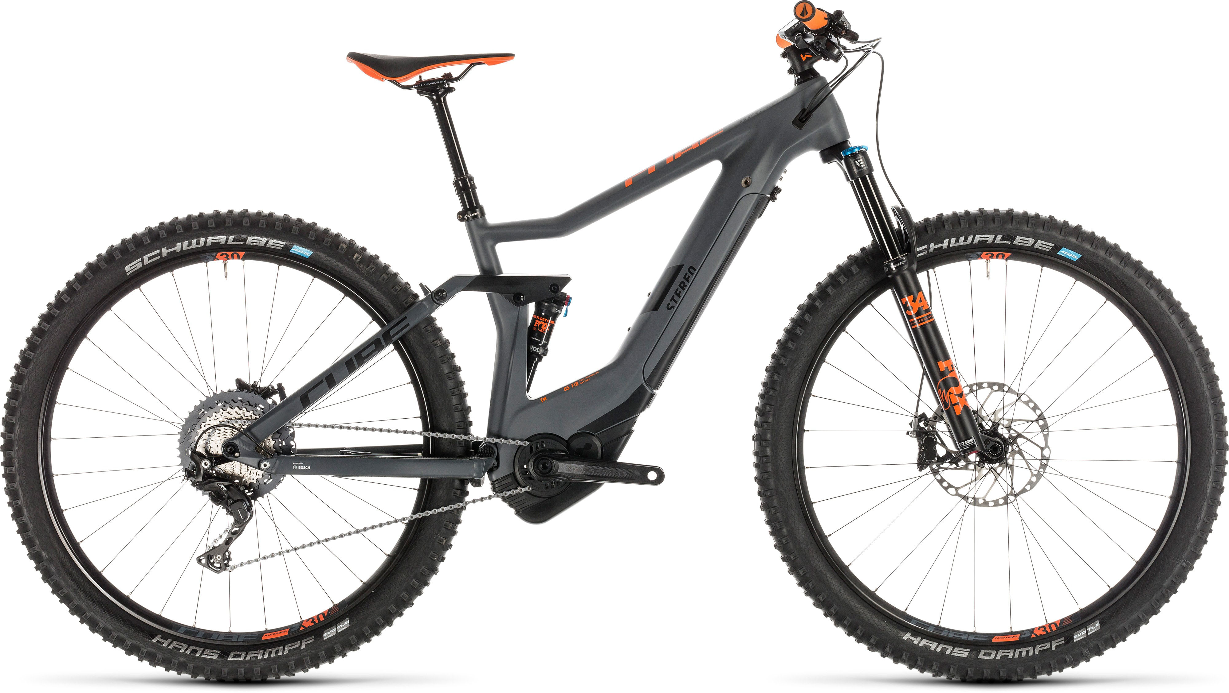 Cube Stereo Hybrid 120 HPC TM 500 E-Bike (2019) | City