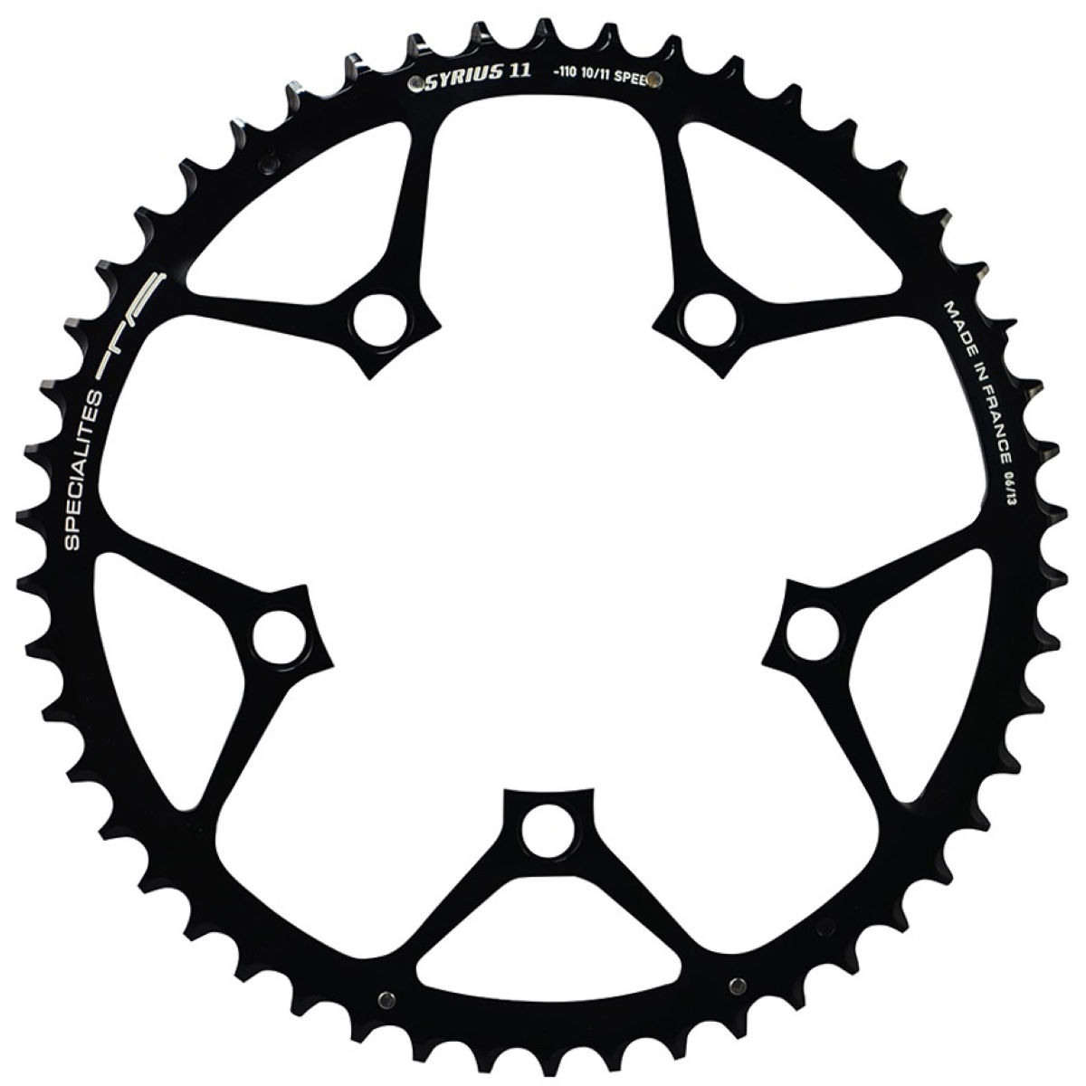 TA TA Syrius Chainring 10/11 Speed Chainring 110mm BCD   Chain Rings