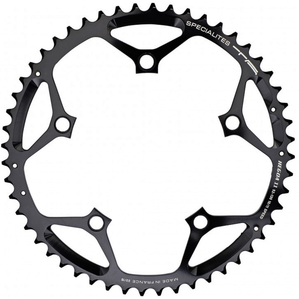 TA TA Hegoe Outer 10/11 Speed Chainring 130mm BCD   Chain Rings