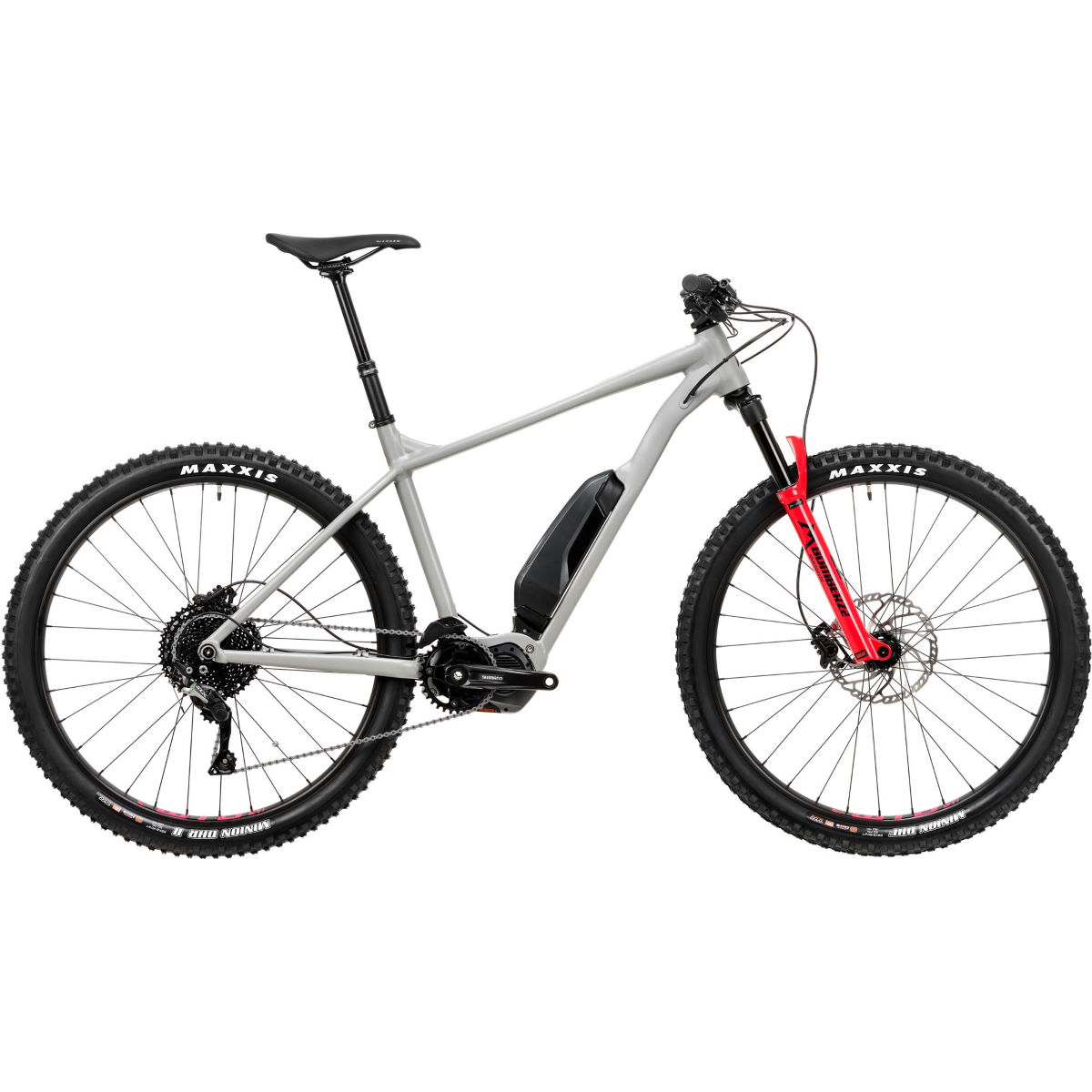 Vitus Vitus E-Sentier VR Hardtail Electric MTB Grey/Red XL   Electric Mountain Bikes