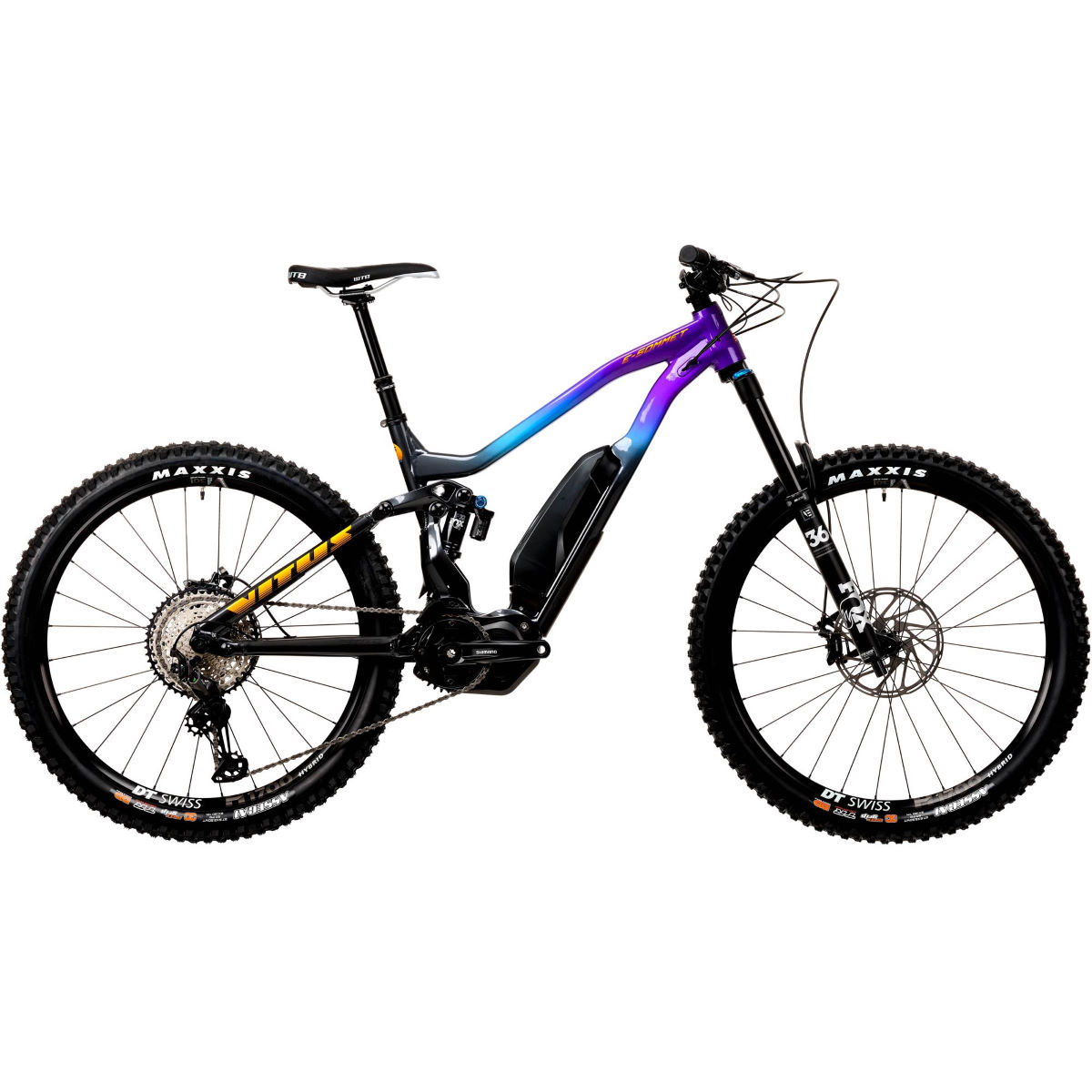 Vitus Vitus E-Sommet VRS E-Bike (XT 1x12 - 2020)   Electric Mountain Bikes