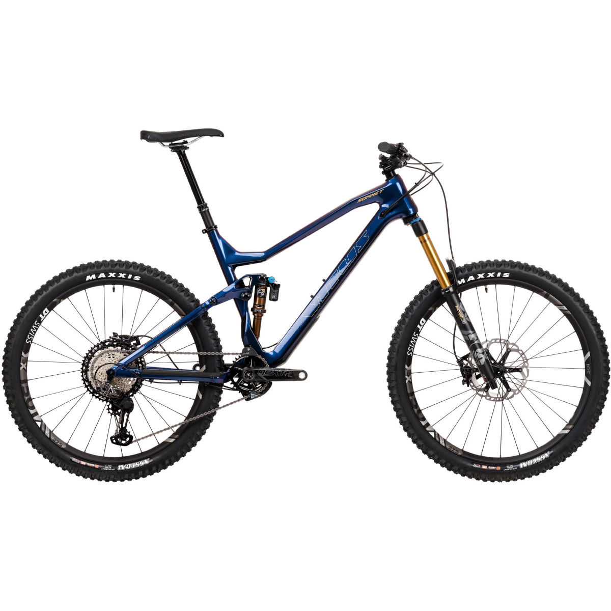 Vitus Vitus Sommet 27 CRX Bike (XTR/XT 1x12 - 2020)   Full Suspension Mountain Bikes