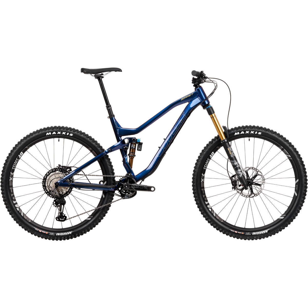 Vitus Vitus Sommet 29 VRX Bike (XTR/XT 1x12 - 2020)   Full Suspension Mountain Bikes
