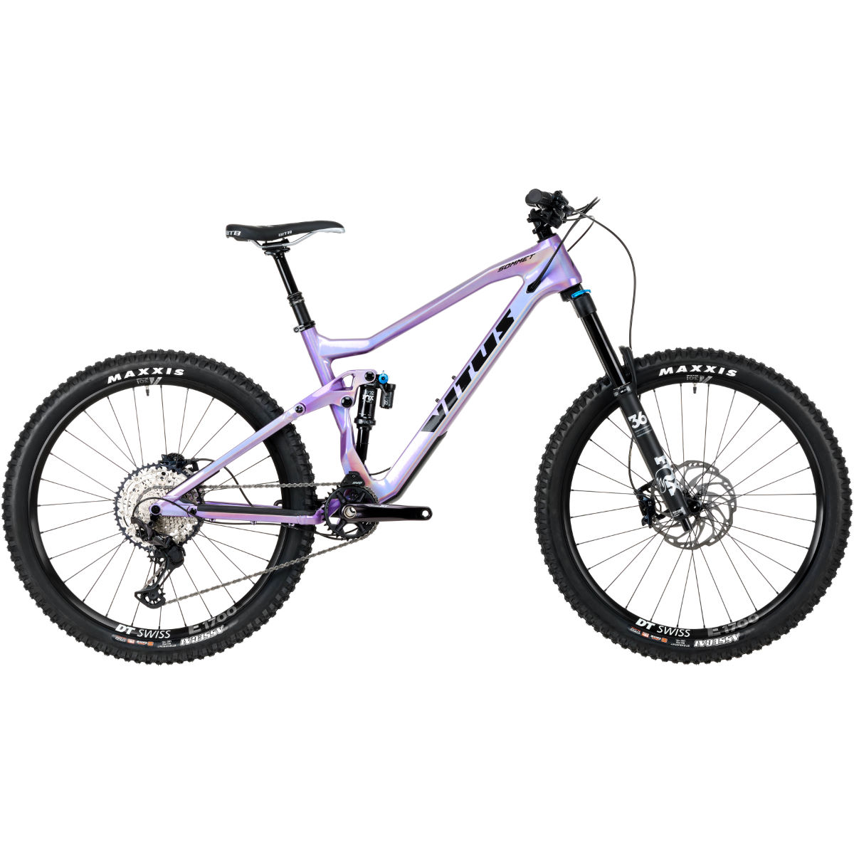 Vitus Vitus Sommet 27 CRS Bike (XT/SLX 1x12 - 2020)   Full Suspension Mountain Bikes