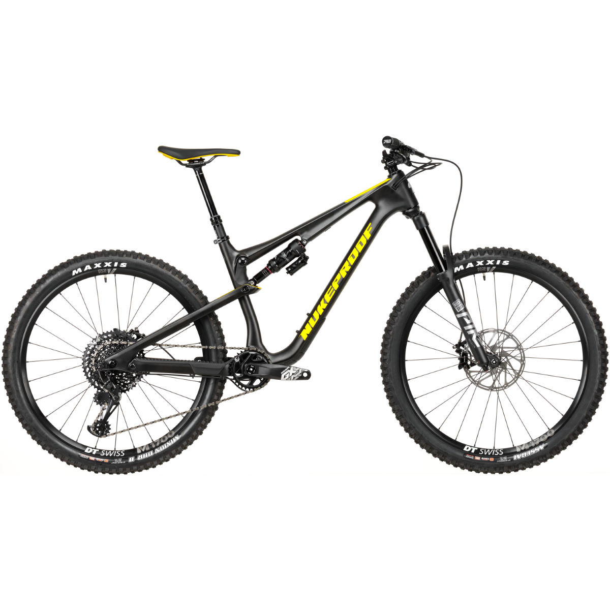 Nukeproof Nukeproof Reactor 275 Pro Carbon Bike (GX Eagle - 2020)   Full Suspension Mountain Bikes