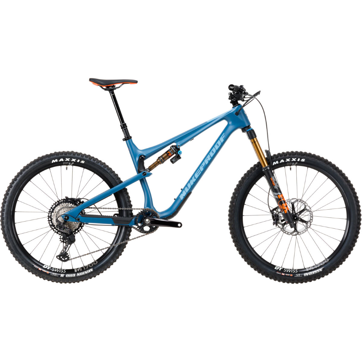 Nukeproof Nukeproof Reactor 275 Factory Carbon Bike (XT - 2020)   Full Suspension Mountain Bikes