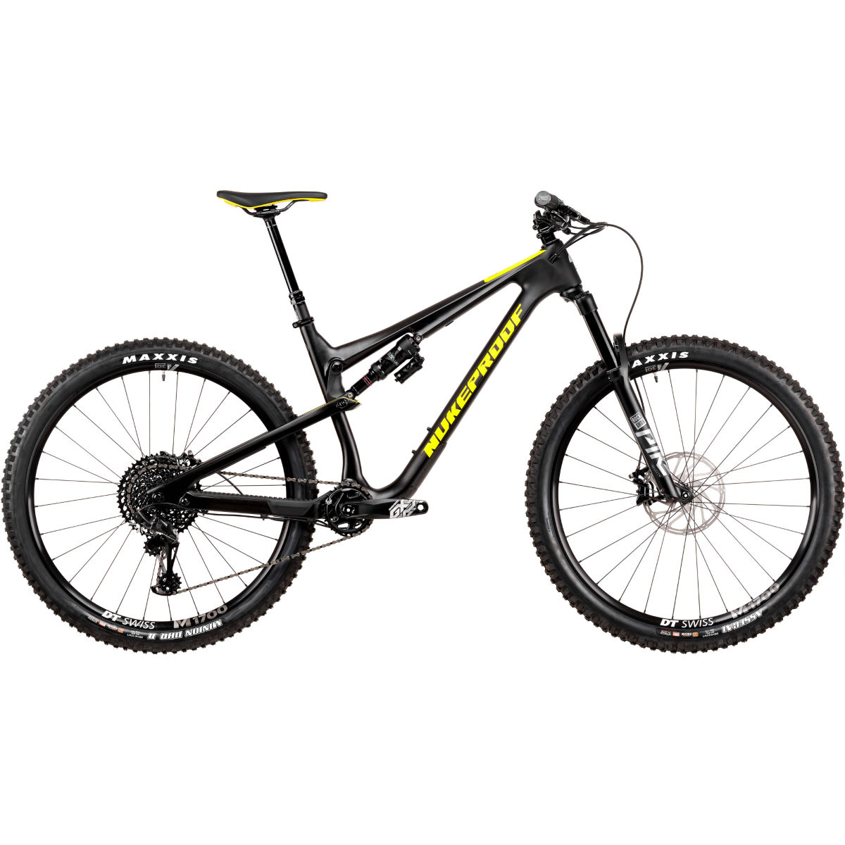 Nukeproof Nukeproof Reactor 290 Pro Carbon Bike (GX Eagle - 2020)   Full Suspension Mountain Bikes