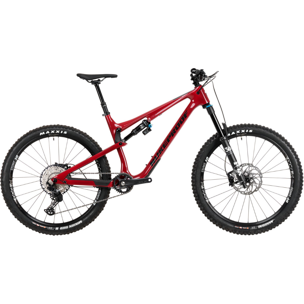 Nukeproof Nukeproof Reactor 275 Elite Carbon Bike (SLX - 2020)   Full Suspension Mountain Bikes