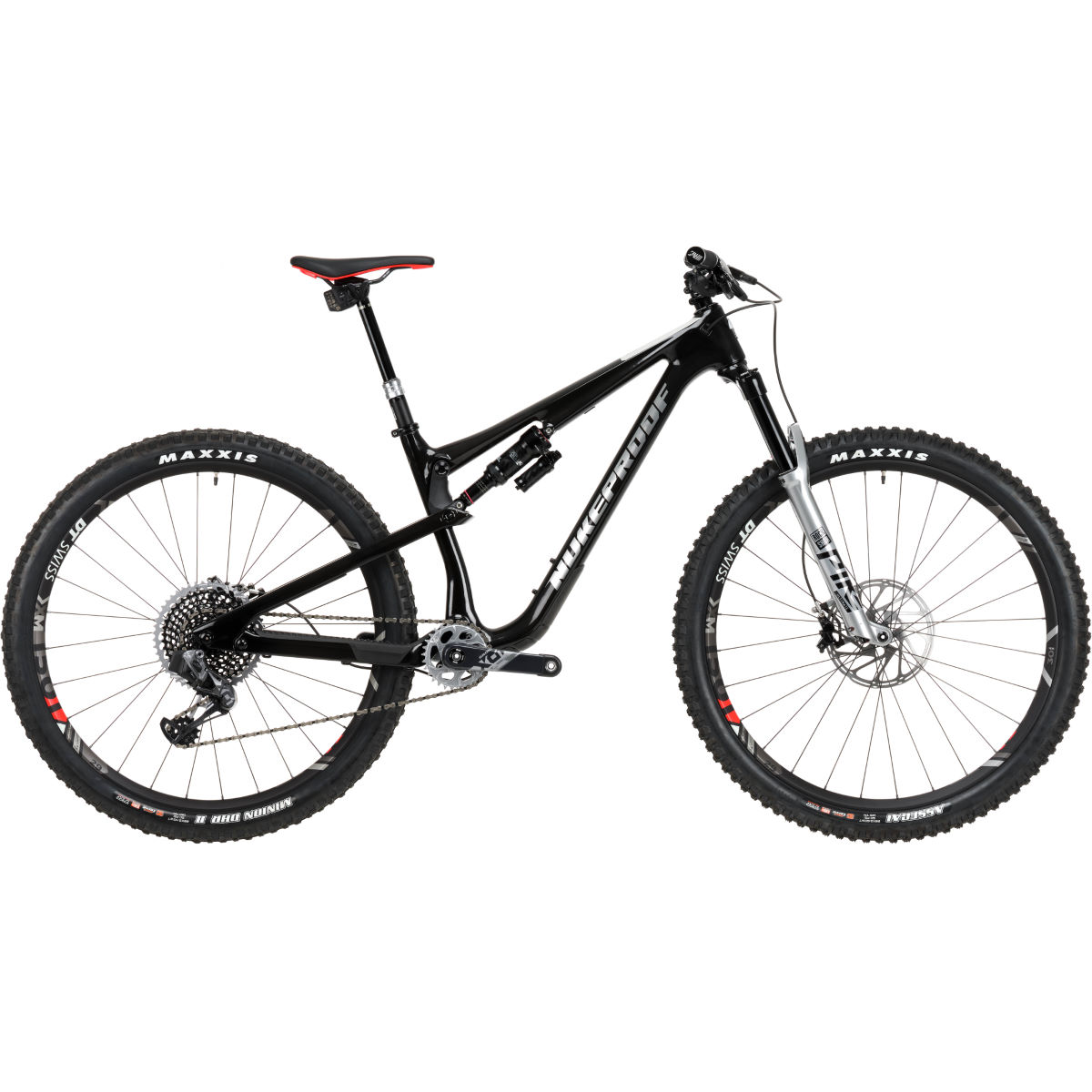 Nukeproof Nukeproof Reactor 290 WORX Bike Carbon (AXS EAGLE - 2020)   Full Suspension Mountain Bikes