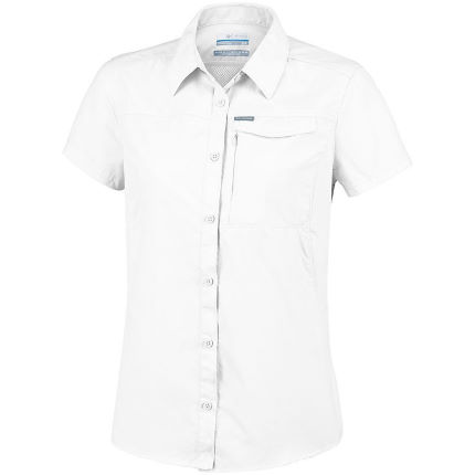 81ce78b6fb5 View in 360° 360° Play video. 1. /. 2. White; Women's Silver Ridge™ 2.0 Short  Sleeve Shirt