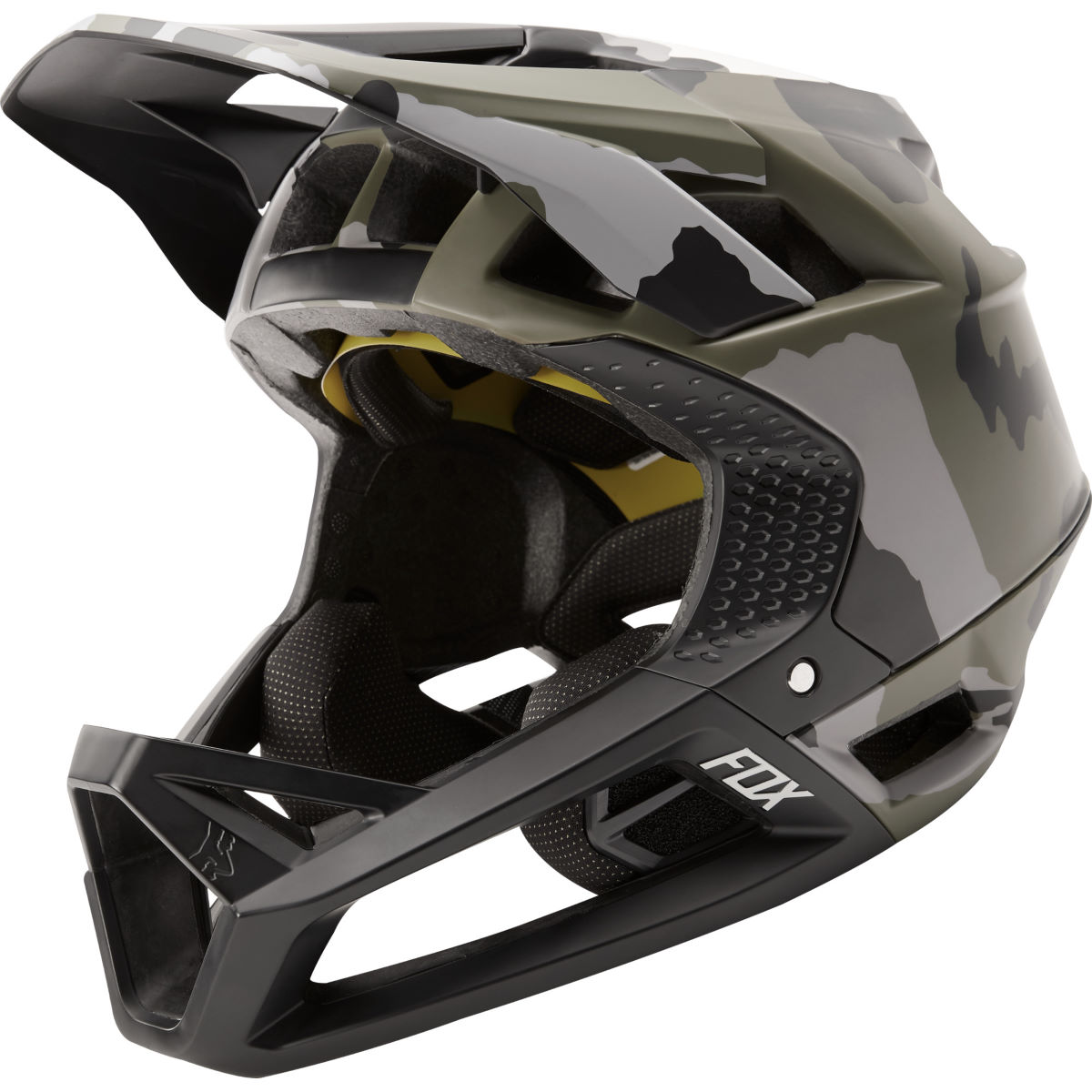 Fox Racing Proframe Camo Full Face MTB Helmet - Cascos