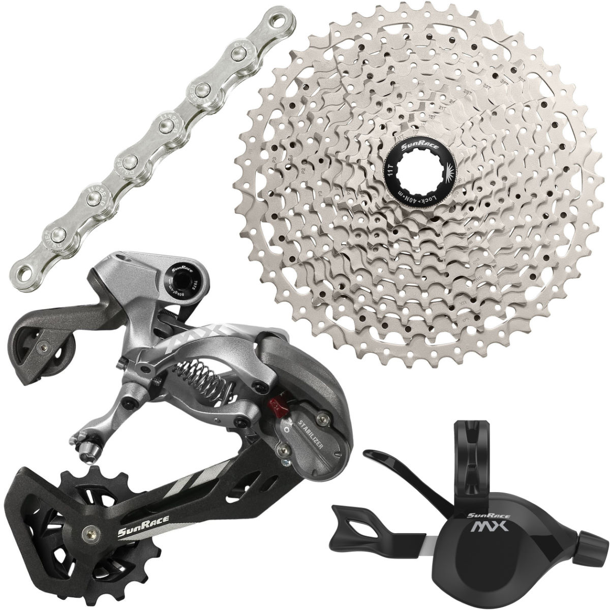 SunRace SunRace 11 Speed Groupset   Groupsets