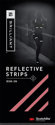 Iron-On Reflective Strips | Reflectives