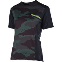 Troy Lee Designs Womens Skyline Short Sleeve Jersey (Camo)