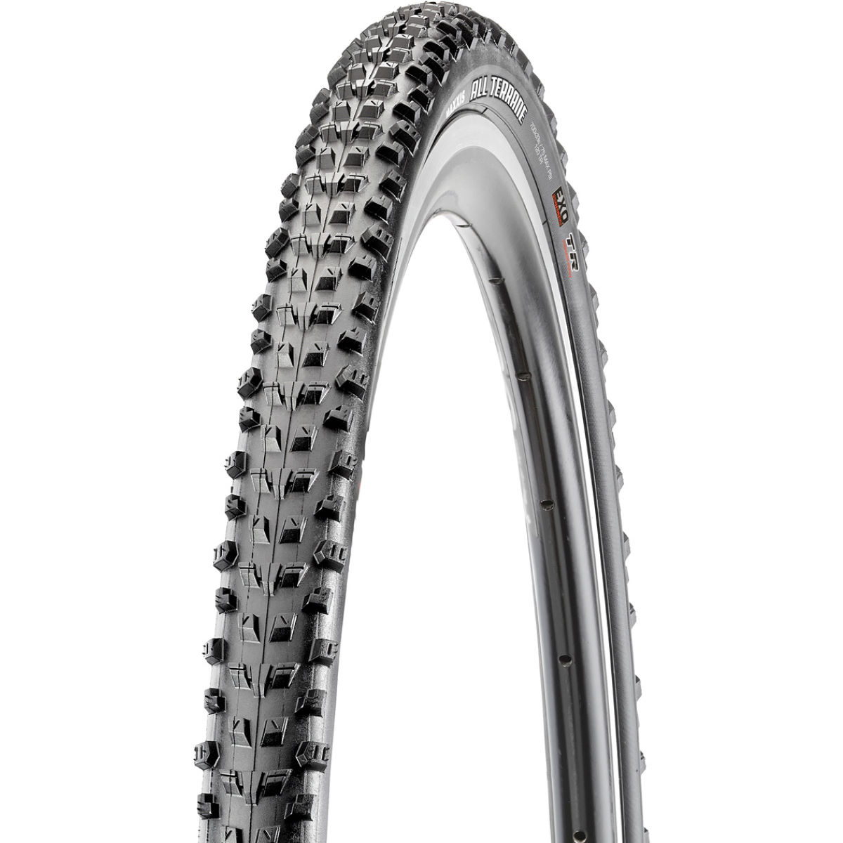 Maxxis All Terrane Tyre - Exo - Tr - Black 700c 33mm  Tyres