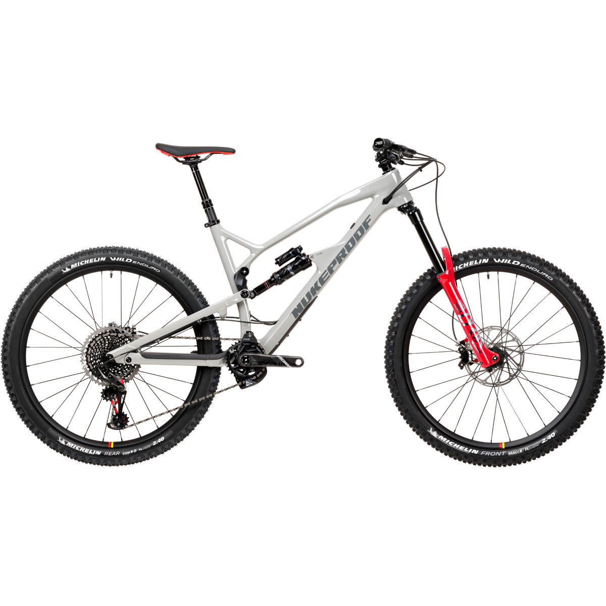 Nukeproof Nukeproof Mega 275 RS Carbon Bike (XO1 Eagle - 2020)   Full Suspension Mountain Bikes