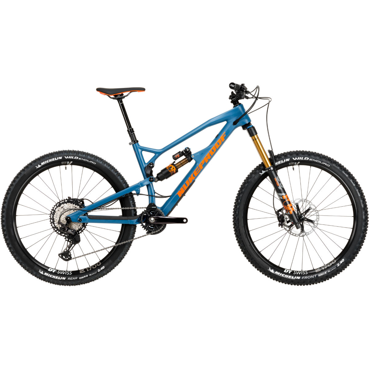 Nukeproof Nukeproof Mega 275 Factory Carbon Bike (XT - 2020)   Full Suspension Mountain Bikes