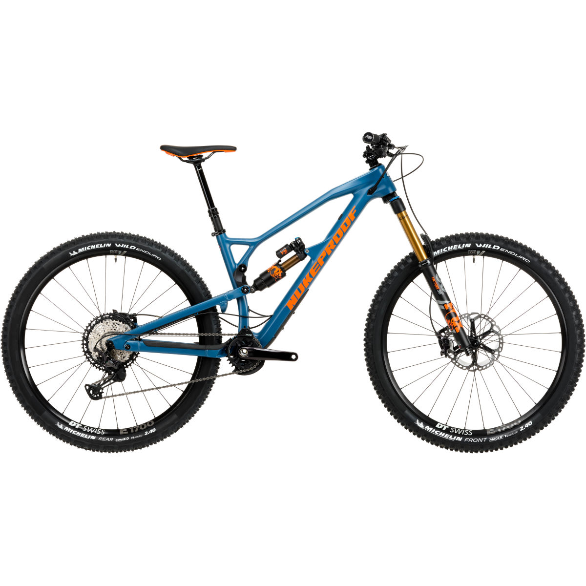 Nukeproof Nukeproof Mega 290 Factory Carbon Bike (XT - 2020)   Full Suspension Mountain Bikes