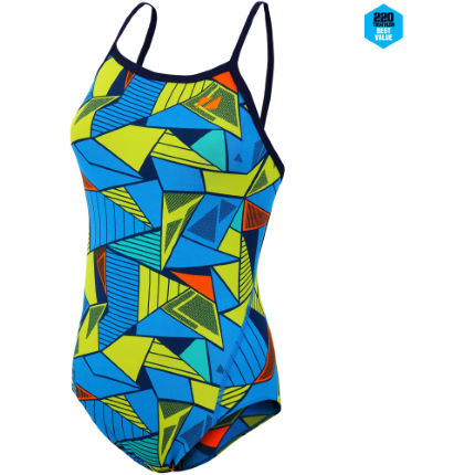 Zone3  Women's Prism 2.0 Strap Back Swimming Costume