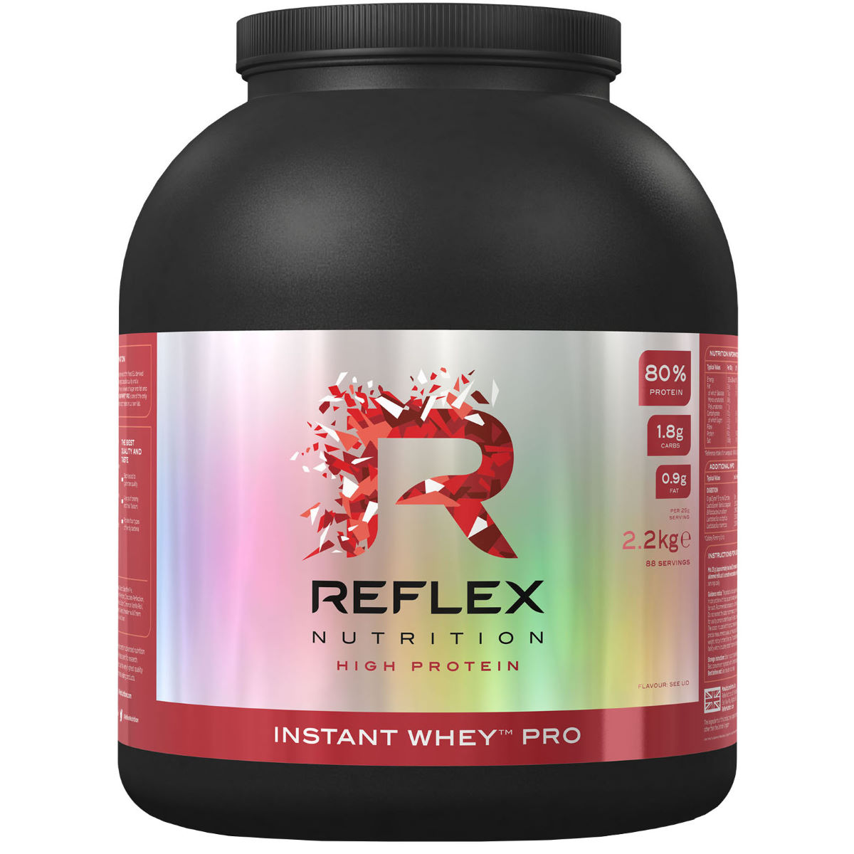 Reflex Reflex Instant Whey Pro (2.2kg)   Supplements