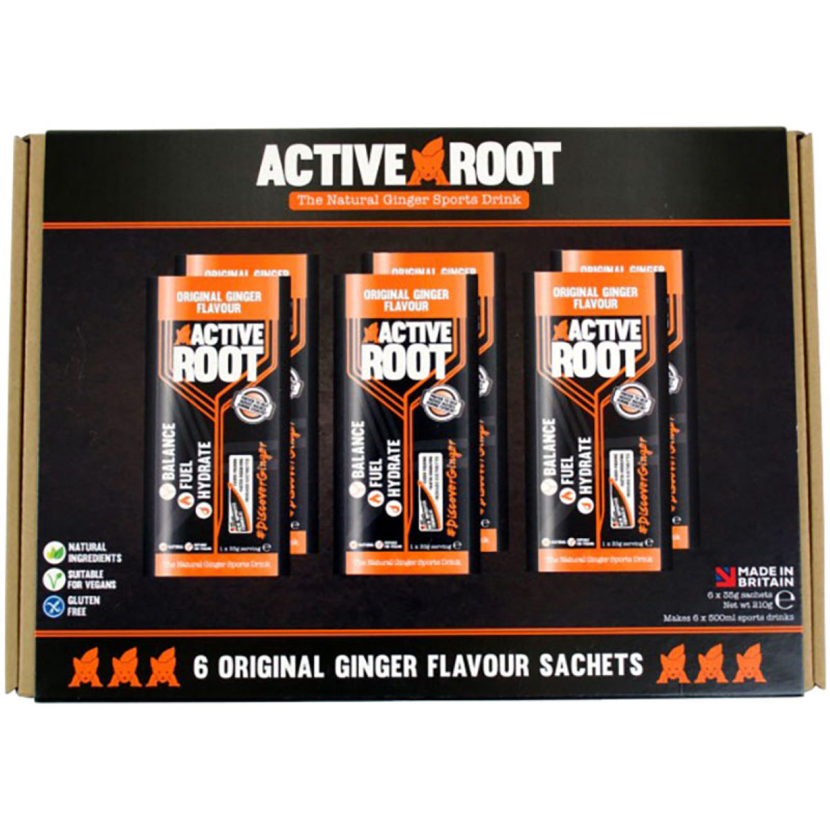 Active Root Active Root 6 Sachet Box (6 x 35g)   Powdered Drinks
