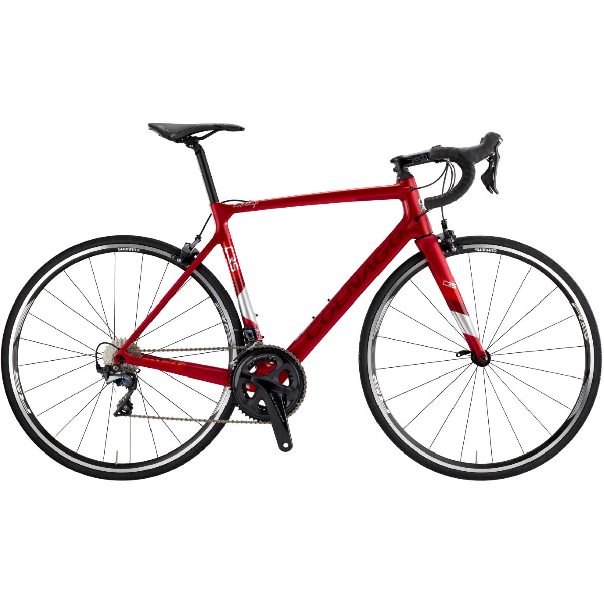 Image of Vélo de route Colnago CRS (Ultegra, 2019) - 50cm Satin Pearl Red