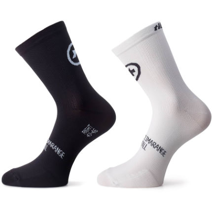 Assos Tiburu Sock Evo 8 Twin Pack