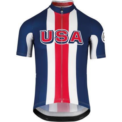 Assos USA Cycling Short Sleeve Jersey