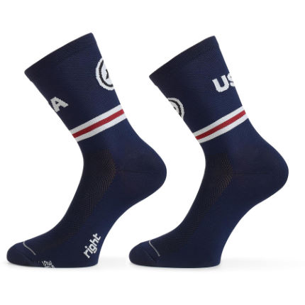 Assos Sock USA Cycling