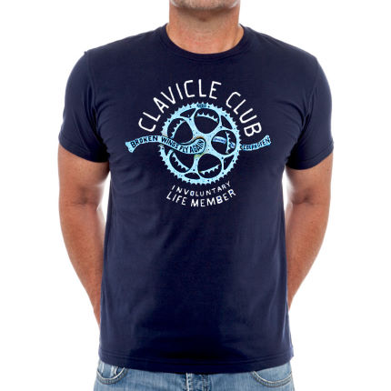 Cycology Clavicle Club T-Shirt Navy XL