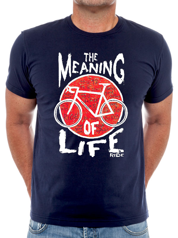 Cycology Meaning of Life T-Shirt | Trøjer
