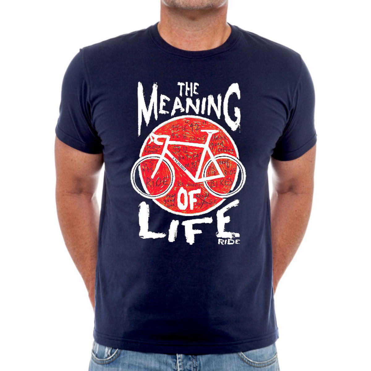 Cycology Cycology Meaning of Life T-Shirt   T-Shirts