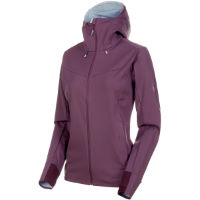 Mammut Womens Ultimate V SO Hooded Jacket