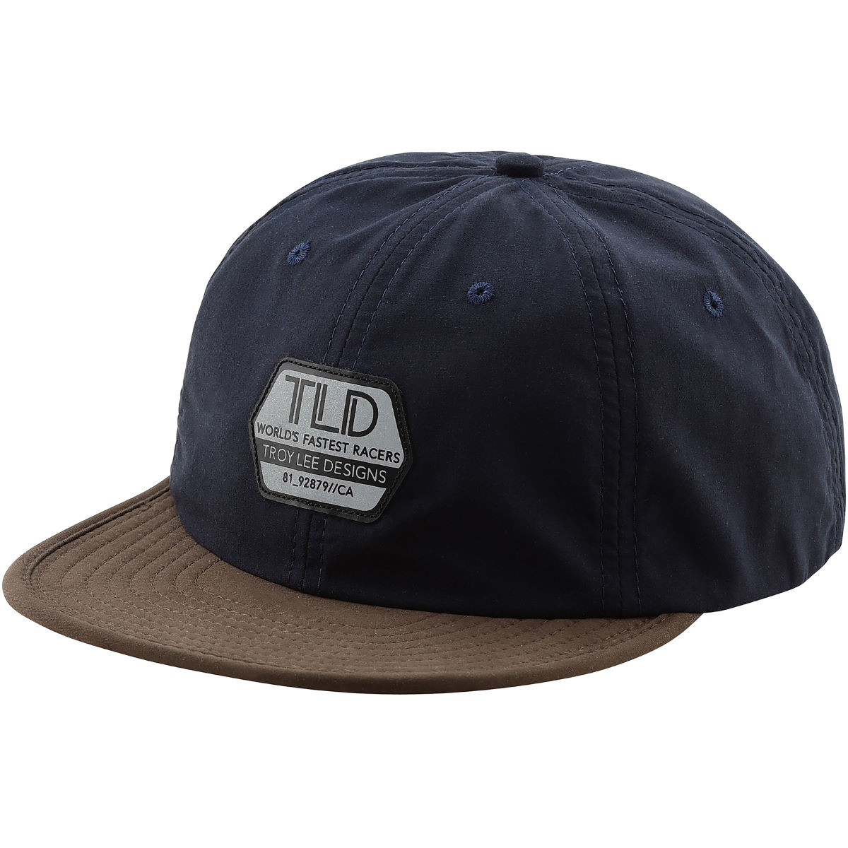 Troy Lee Designs Reflective Factory Snapback - One Size Navy  Caps