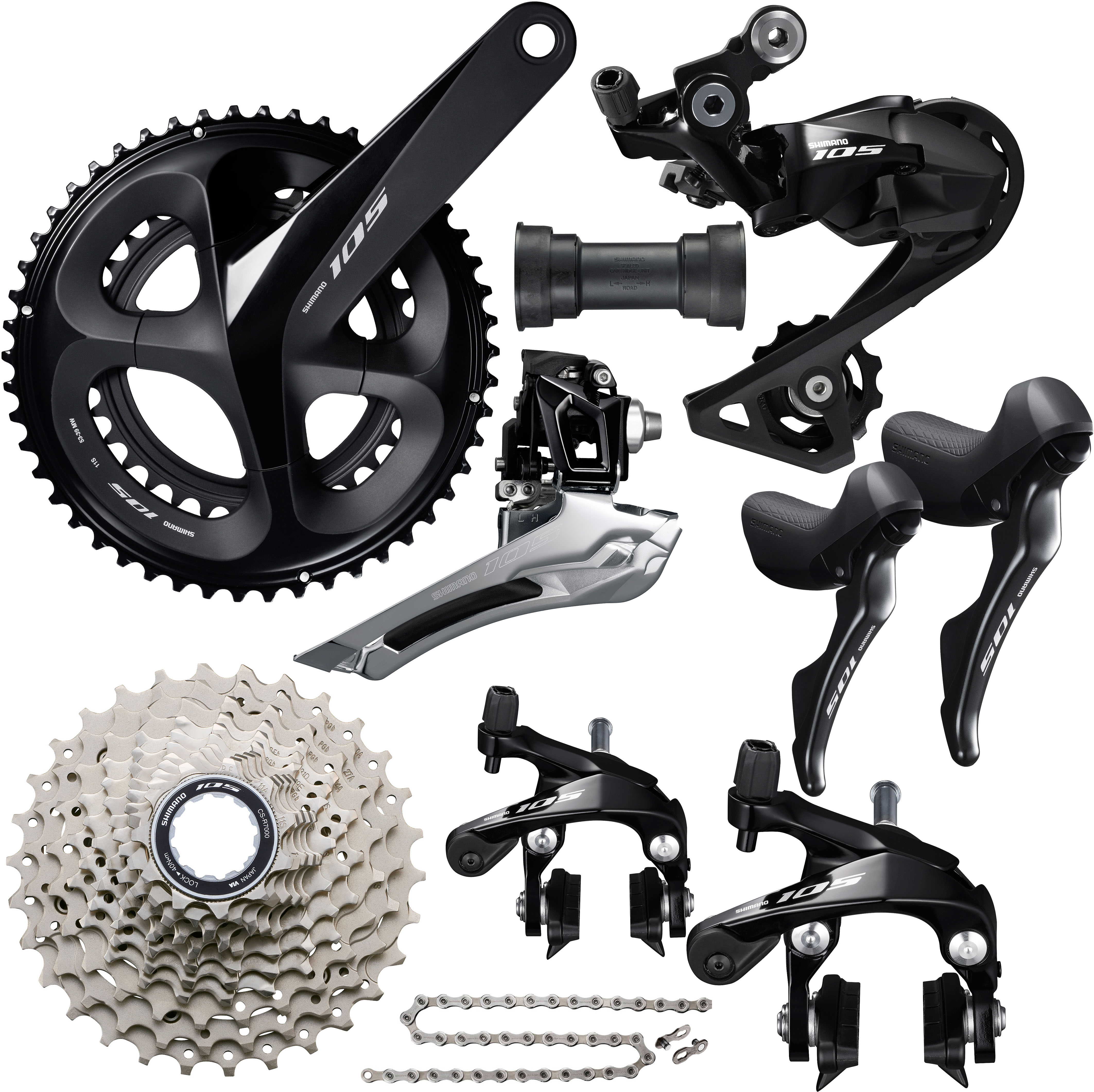 Shimano 105 R7000 Pressfit Groupset | Groupsets