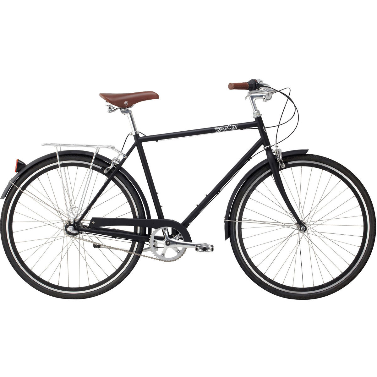 Pure Fix Cycles Bourbon 3 Speed City Classic Bike (2019)   Leisure Bikes