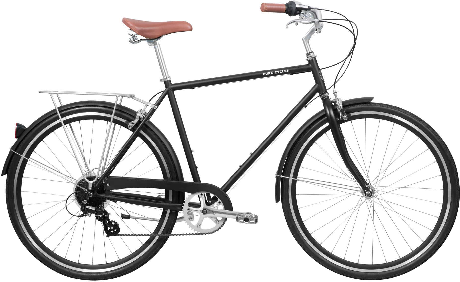 Pure Fix Cycles Bourbon 8 Speed City Classic Bike (2019) | City