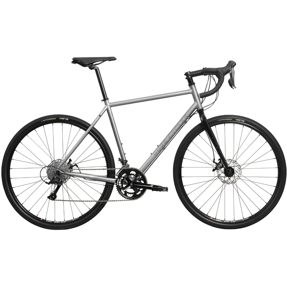 Image of Vélo de gravel Pure Fix Cycles Henday (aventure, 2019) - Small Grey