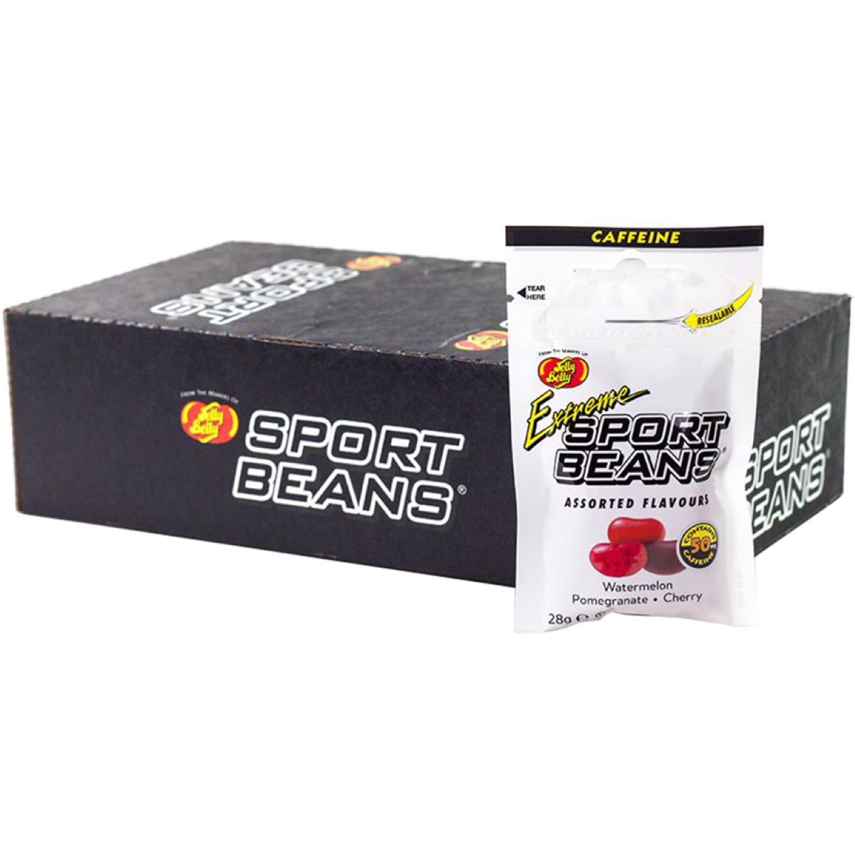 Jelly Belly Jelly Belly Extreme Sport Beans (24 x 28g)   Chews