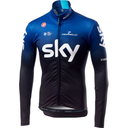 Castelli Team Sky Long Sleeve Thermal Jersey