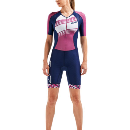 2XU Womens Compression Sleeved Trisuit