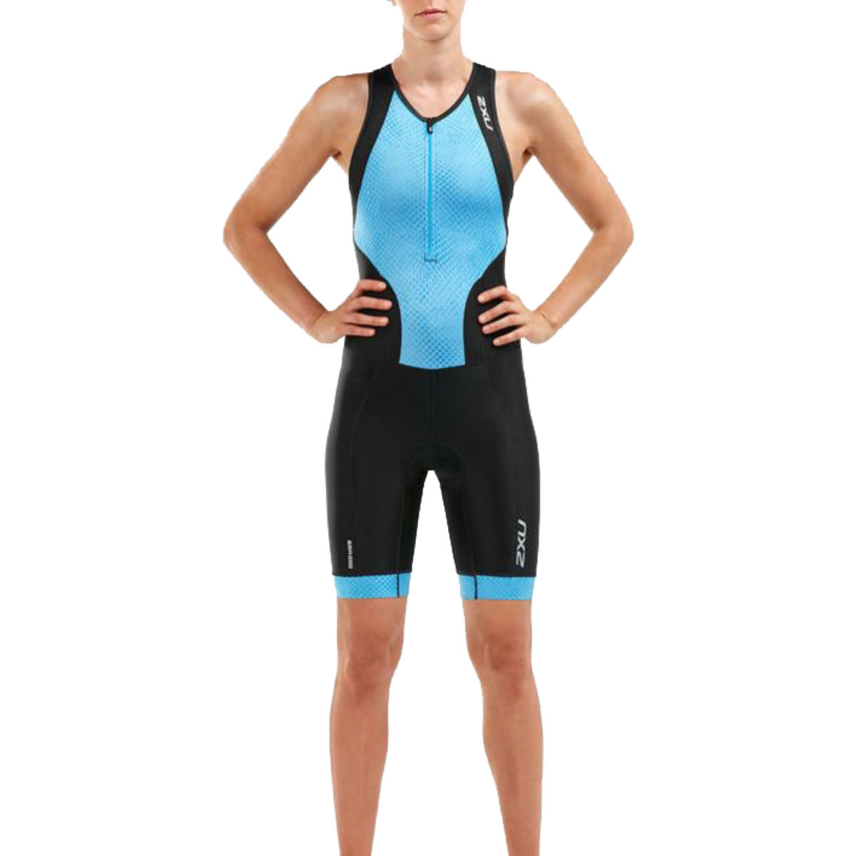 2XU Womens Perform Front Zip Trisuit - Trajes de triatlón
