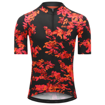 dhb Blok Short Sleeve Jersey - Autumn